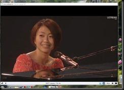 Utada on Ustreamtv Live 08-12-2010 - cropped