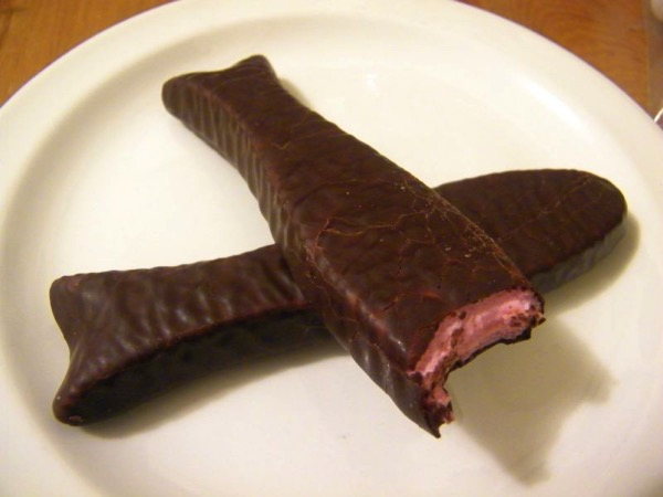 Chocolate fish 1